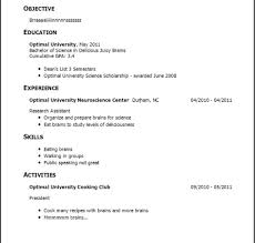 Resume Examples For Teenagers First Job Of Resumes In Phenomenal