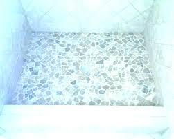 rock shower mat floor river tile cool ceramic faux stone japanese