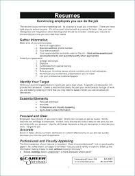 How To Format Your Resume Unique How To Create A Resume Job Format And Maker At Description For R