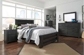 3 piece queen bedroom set. Simple Set Brinxton  Black 3 Piece Bed Set Queen For Queen Bedroom Design Center Furniture
