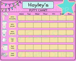 Potty Training Chart Diy