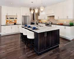 Dark wood kitchen flooring ideas. Can I Have Light Kitchen Cabinets With Dark Floors