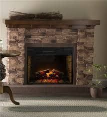 main image for quartz infrared stone fireplace
