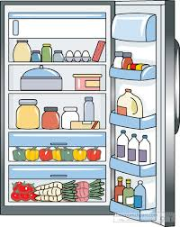 refrigerator clipart png. open-refrigerator-with-food-inside-clipart-5188.jpg refrigerator clipart png