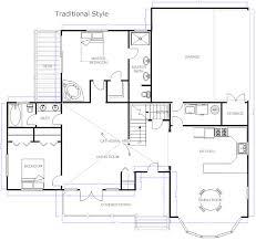 architectural floor plans first floor set forward both sides ...
