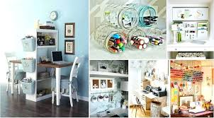 Organized Office Space Ideas Organized Office Black White Home