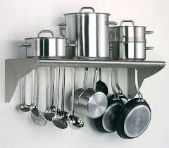 picture of wall mounted utensils shelf