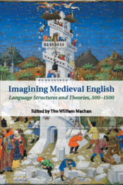 Imagining Medieval English edited by Tim William Machan