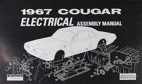 1967 mercury cougar wiring diagram manual reprint 1967 mercury cougar electrical assembly manual reprint