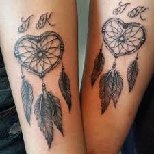 Heart Dream Catcher Tattoo 100 Small Dreamcatcher Tattoo Placement Ideas 7
