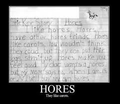 hores like carots horses carrots kids story writing school essay  hores like carots horses carrots kids story writing school essay image macro kid fun image macro humor and laughter