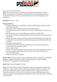 Music Manager Job Description Marketing The Music Business Network