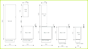 Standard N Cabinet Sizes Cabinets Chart Measurements Us