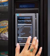 Vending Machine Nutrition Facts Extraordinary New Technology In Vending Machines Will Display Nutrition Facts For