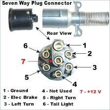 7 way truck plug wiring diagram trailer best of ideas michaelhannan co 7 way trailer plug wiring diagram truck semi