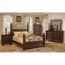 wood and wrought iron furniture. King Bedroom Set Hand Forged Wrought Iron Solid Poplar Wood And Furniture N