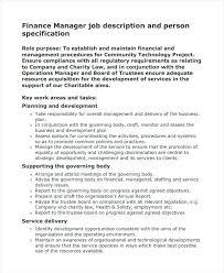 Job Description Role Template Project Manager Sample Construction ...