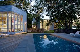 pool house kitchen. Brief: In This Garage And Mechanical Building, Create A Pool House/interior Residence Consisting Of Bedroom, Kitchen, Bath Outdoor Space While House Kitchen