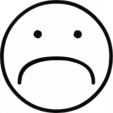Small Picture Sad Face Coloring Page GetColoringPagescom