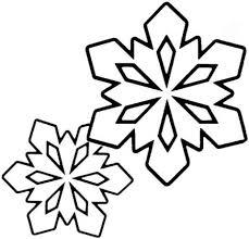 Disegno Di Piccoli Fiocchi Di Neve Da Colorare Disegni Da Colorare