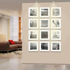 modern picture frames. Modern Square Photo Wall White Frames 32.5cm*32.5cm Wooden Picture Frame  With Paper Passe-Partouts Corridor Decoration Modern Picture Frames A