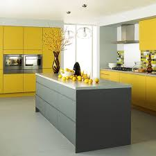 Exciting Yellow And Gray Kitchen 36 With Additional Online With Yellow And Gray  Kitchen