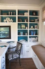Built In Home Office Furniture Creative Interior