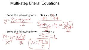 interesting how to solve a literal equation step by solving equations practice worksheet multi stepliteralequa solving