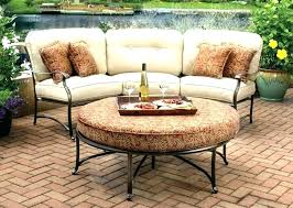 curved patio seating bench seat cushions furniture sectional ideas garden image of chairs curved patio seating