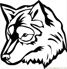 Small Picture Wolf Coloring Page 07 Coloring Page Free Wolf Coloring Pages