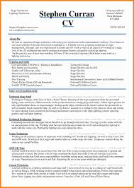 resume same resume curriculum vitae template fresh 5 cv sample word