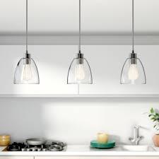 pendant lighting for island. Remarkable 3 Light Island Pendant Lights Inspiring Kitchen | Salevbags Lighting For