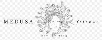 Pngkey provides millions of hd png images for free download. Medusa Friseur Graphikbuero Gebhard Uhl Art Website Development Png 788x326px Medusa Art Artwork Black And
