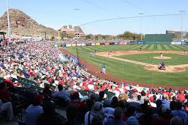 Tempe Diablo Stadium Seating Chart Small Fire Breaks Out At Tempe Diablo Stadium Kjzz