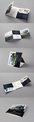 Brochure Builder Tri Fold Square Template Psd 1 Flyer