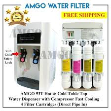 cold water filter dispenser hot and cold water dispenser with 4 filter cartridge countertop hot cold water dispenser filter instant hot cold water dispenser