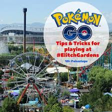 elitch gardens theme water park is literally swarming with pokémon with over 15 diffe pokéstops tered all over the park we are one of the best