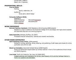 Best Solutions Of Inspiring Resume Skills Sample Simple Emt Resume