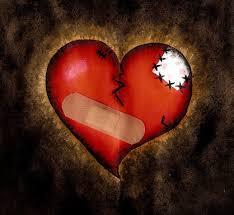نتیجه تصویری برای تصویر قلب زخم خورده