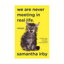 we are never meeting in real life essays paperback samantha  we are never meeting in real life essays paperback samantha irby
