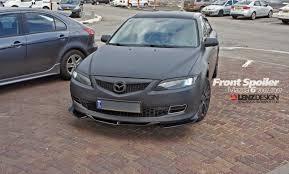 Mazda 6 2002-2007 Front Spoiler / Lenzdesign Performance Israel ...