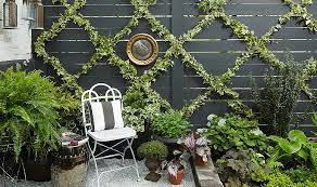 Small Picture An Insanely Chic and Simple Garden Trellis DIY