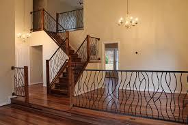 Modern Metal Stair Railings Interior