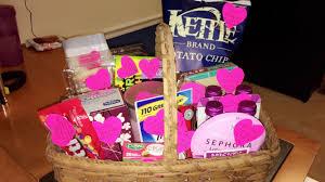 breakup basket for a friend