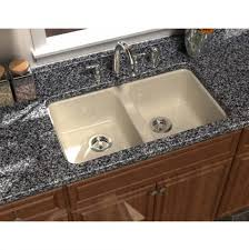 Granite Undermount Kitchen Sinks Cool Undermount Double Bowl Black Granite Square Kitchen Sinks