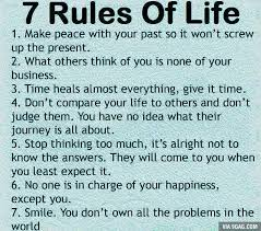 40 Rules Of Life Quote Alluring Best 40 40 Rules Of Life Ideas On Cool 7 Rules Of Life Quote