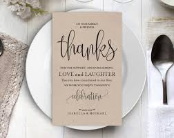 Wedding Thank You Notes Templates Wedding Thank You Printable Template Thank You Card