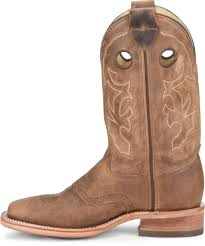 Light Brown Square Boots 12 Inch Wide Square Old Town Roper