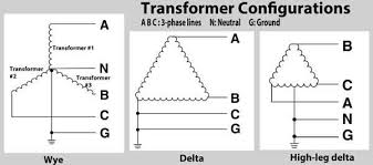 how to wire 3 phase transformer configurations example 3 phase transformer configurations