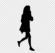 Silhouette Fashion Girl Transparent Png Image Clipart Free Download